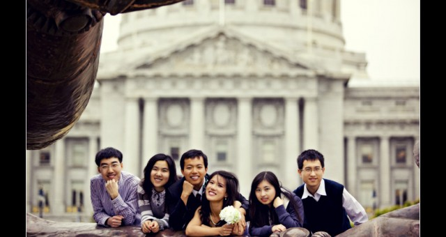 San Francisco City Hall Wedding | Min & Lu