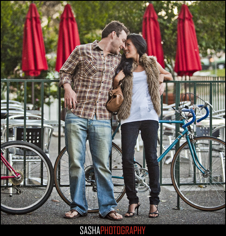 san francisco engagement session financial district embarcadero