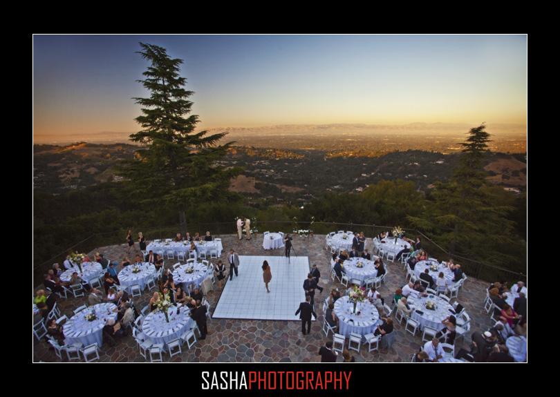 mountain winery wedding reception