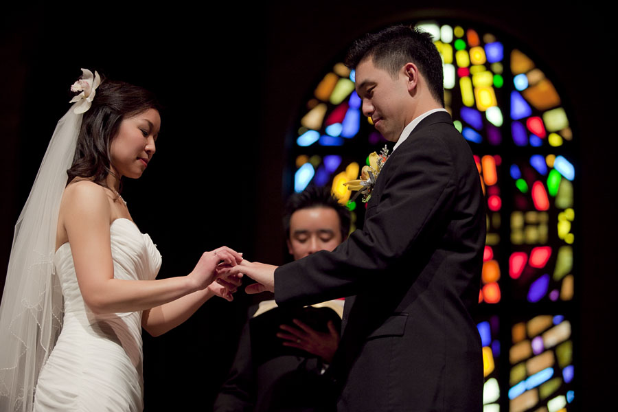 chinese wedding ceremony church