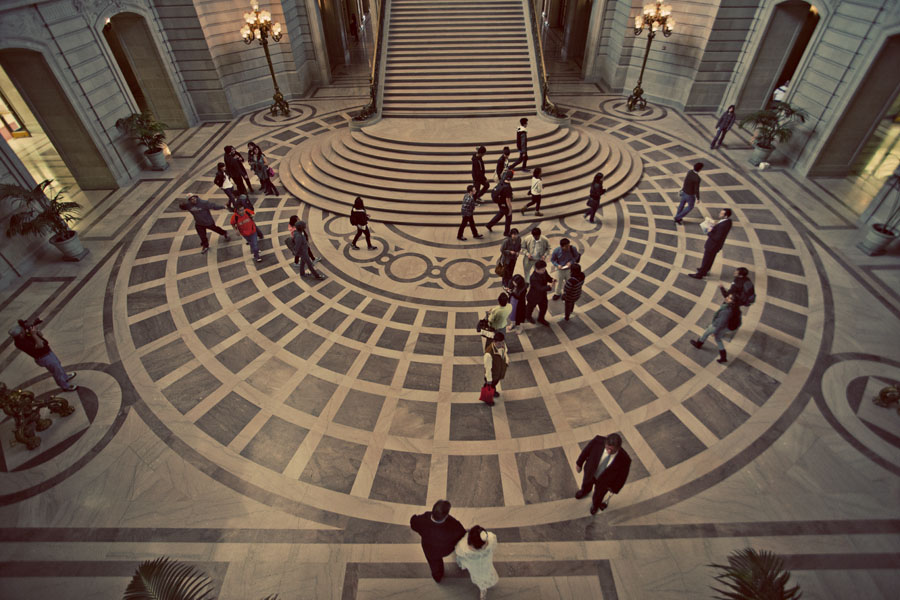 san francisco city hall marriage photography