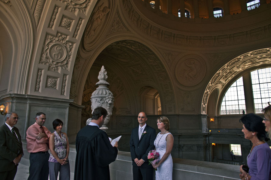 san francisco city hall wedding