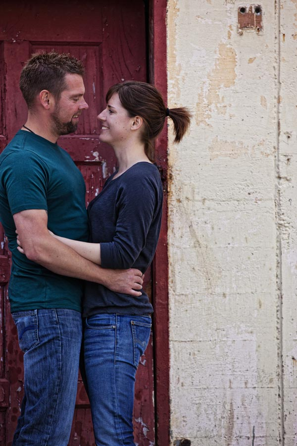 fort mason engagement session