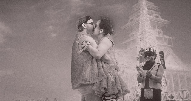 Reflection and Inspiration: Weddings at Burning Man!