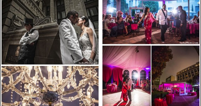 Geeta + Desmond Bishop's Wedding Featured on Maharani Weddings!