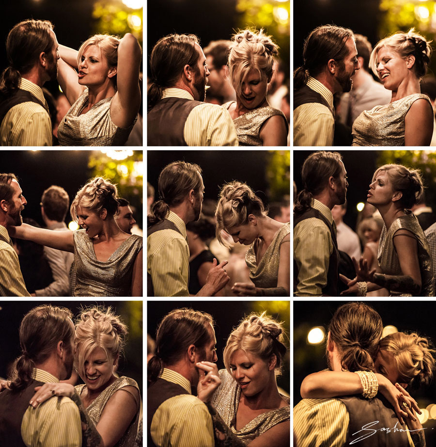 campovida wedding dance collage