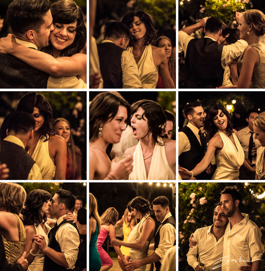 campovida wedding dance collage bride groom