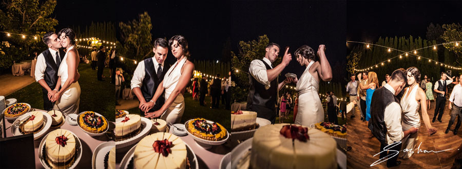 campovida wedding cake