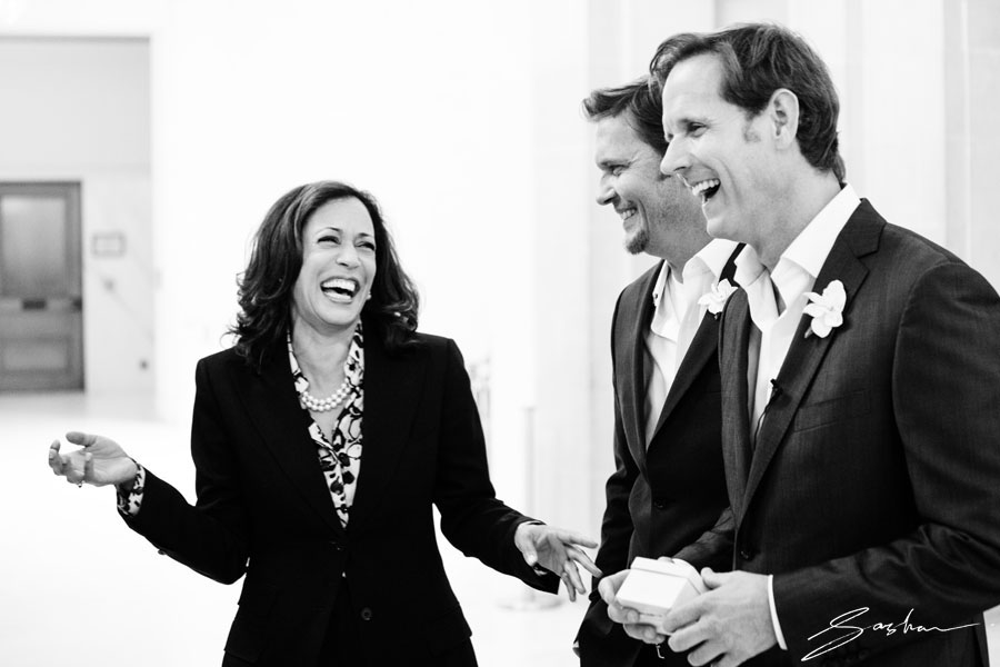 san francisco city hall wedding kamala harris