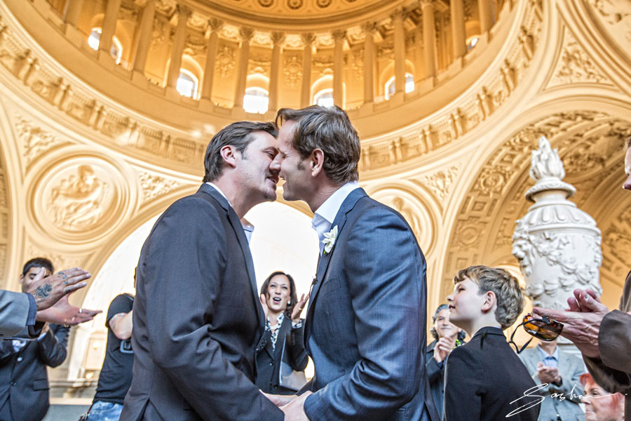 san francisco city hall gay wedding ceremony