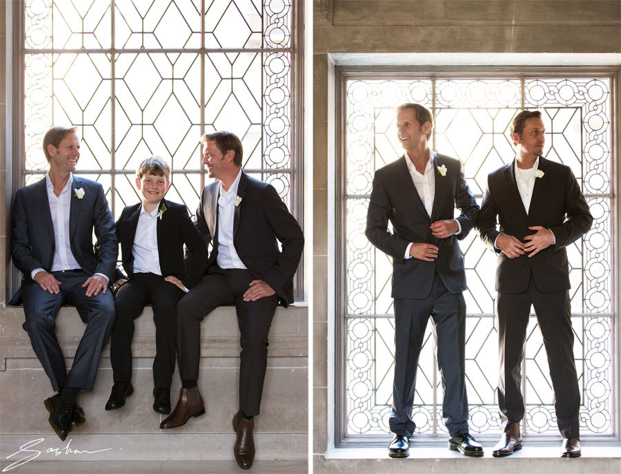 san francisco city hall gay wedding portraits