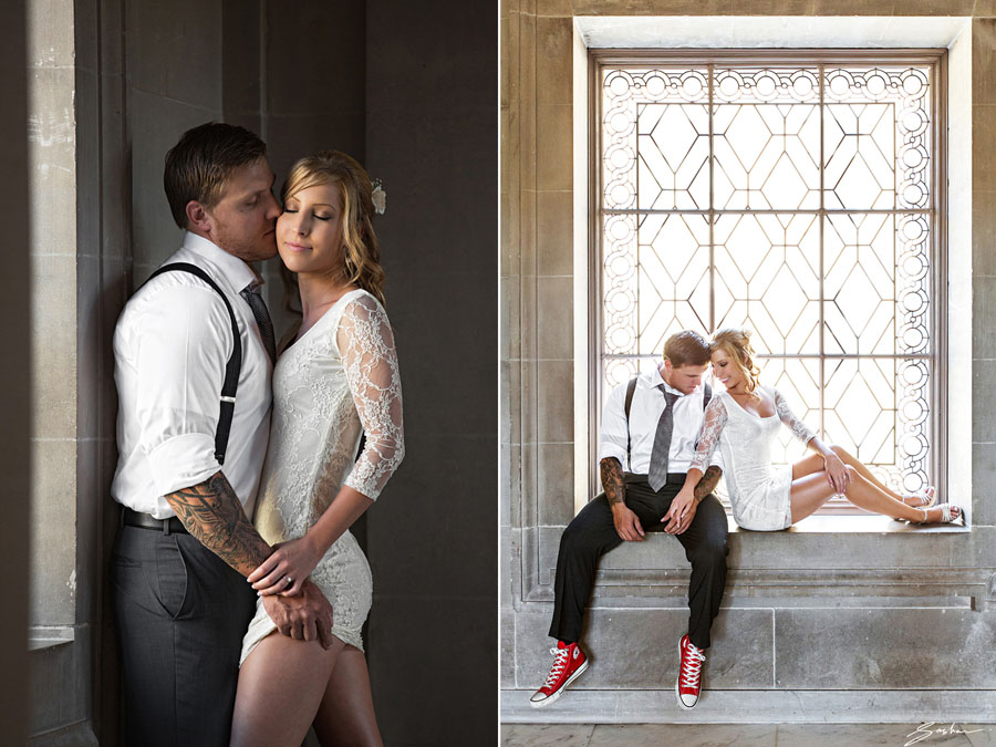 intimate sf city hall wedding