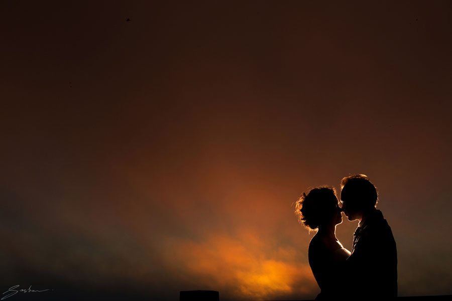 san francisco sunset wedding