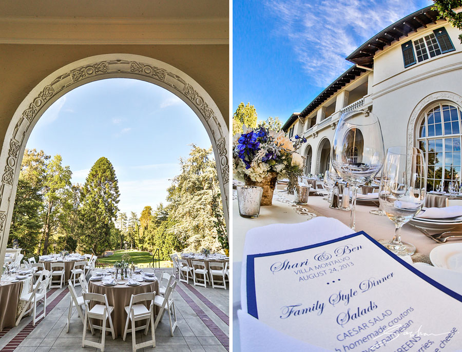 villa montalvo reception details