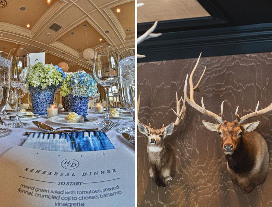hotel jerome ballroom wedding decor