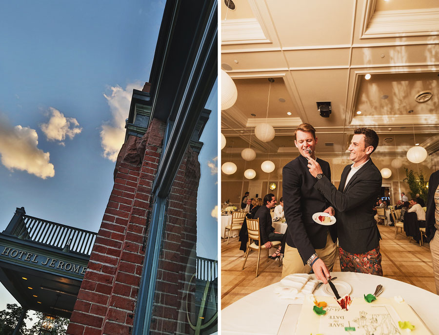 hotel jerome aspen gay wedding