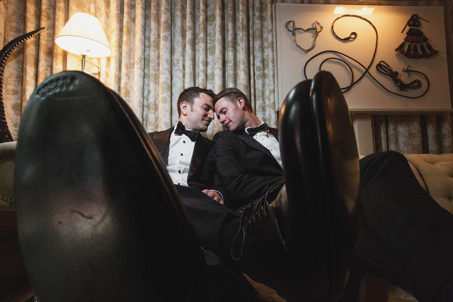 hotel jerome groom portraits