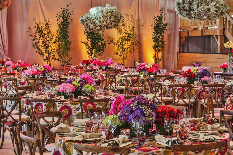 aspen chaparral wedding decor