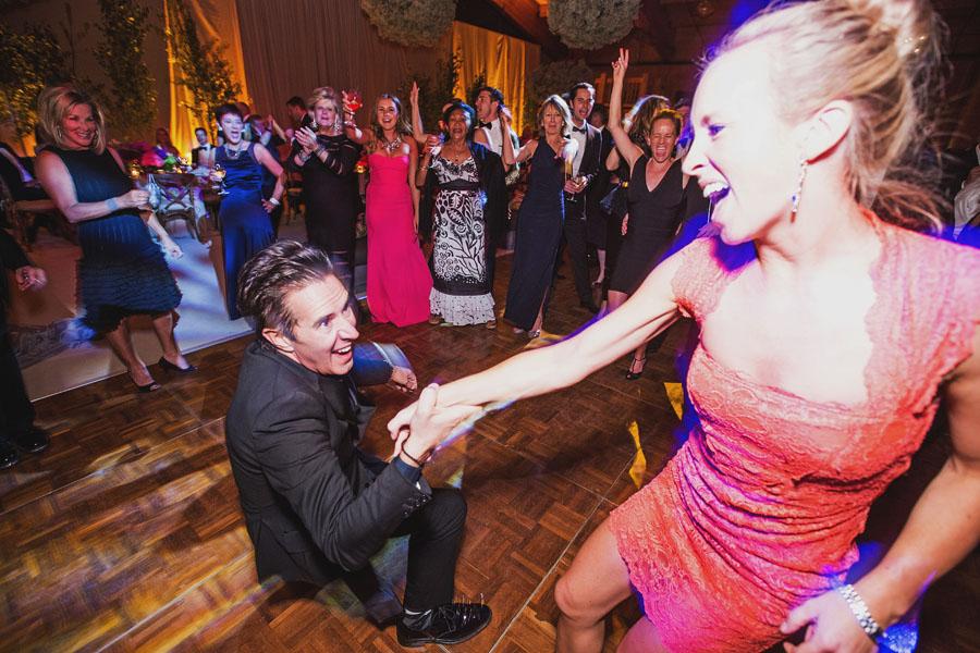 chaparral wedding dancing
