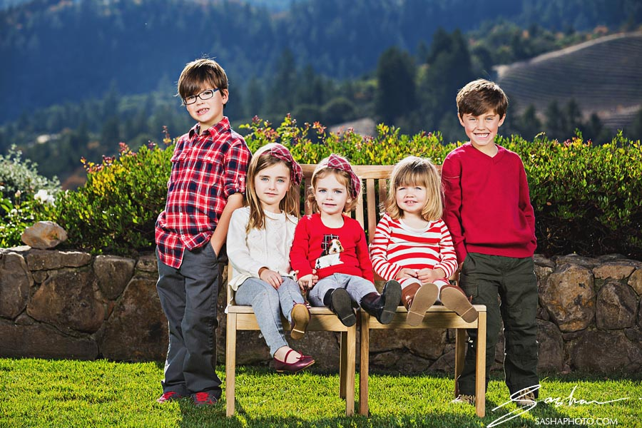 group of children photo