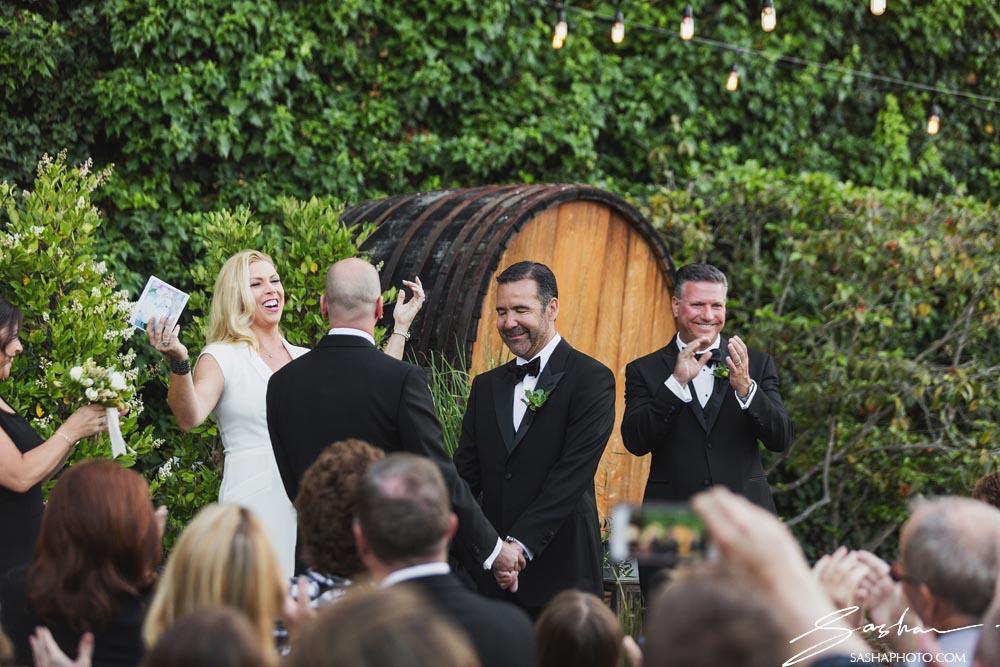 wedding ceremony grooms