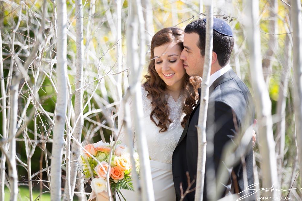 creative couple wedding photo