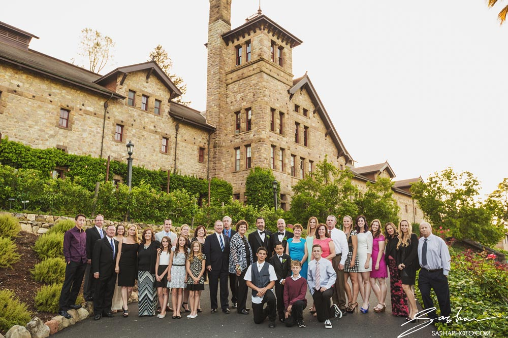 large group photo at culinary institute