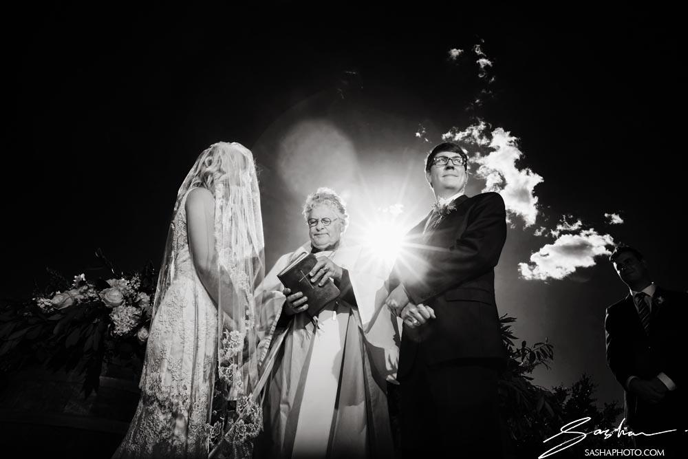 wedding ceremony priest